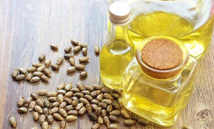 Hair breakage remedies - castor oil