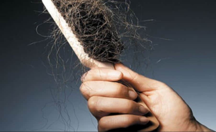 Causes of hair breakage including on hairline and crown
