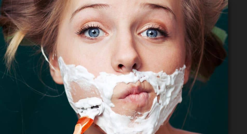 Female facial hair removal - can you shave