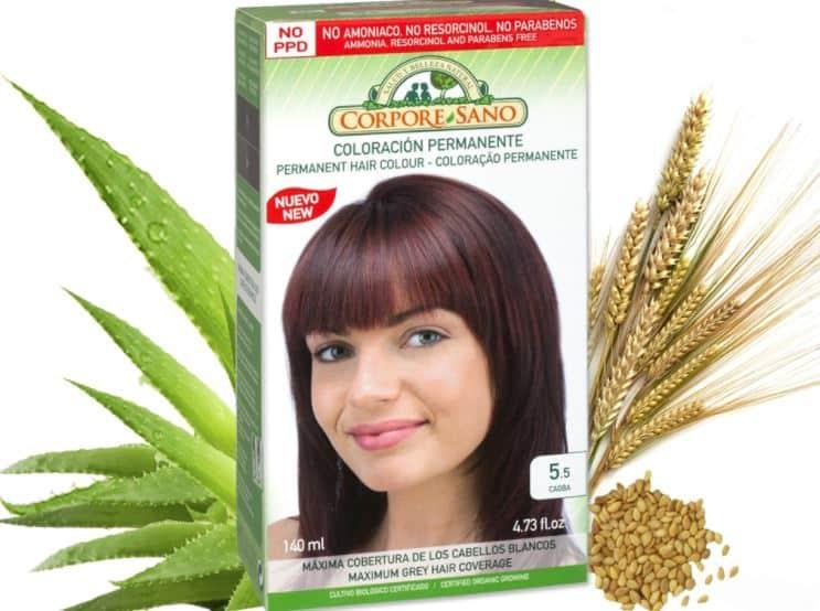 Permanent organic hair dyes